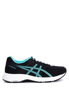 dfd925e2 Asics black and blue Gel-Contend 5 Training Shoes 9EE6DSH04C1E09GS_1