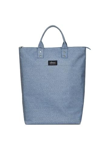 ideer blue Morris Ocean Spray 2 way Laptop Backpack ID960AC92HWPHK_1