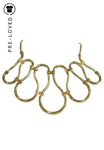 Lanvin gold Pre-Loved lanvin Chain Necklace 27394AC450132CGS_1