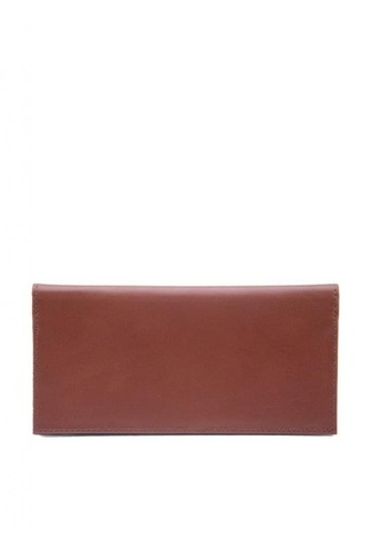 The Tannery Manila brown Benedict Leather Wallet 8335DAC29874ADGS_1