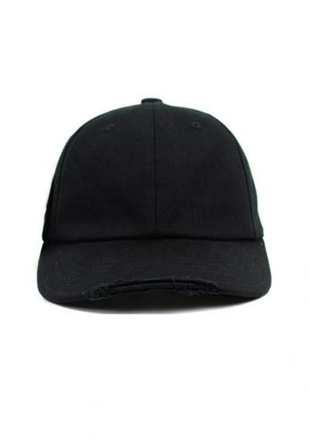 M-Wanted black M. Urban Streets Baseball Cap MW173AC40QSTSG_1
