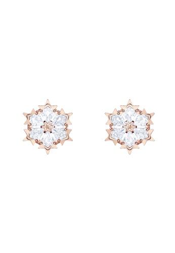 Swarovski gold Magic Pierced Earrings 23C21AC36565C4GS_1