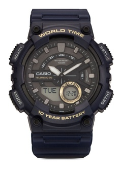 防水運動指針電子錶