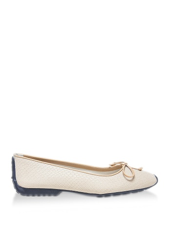 Covet beige French Sole Gabi Ballet Flats CO331SH84YFNPH_1