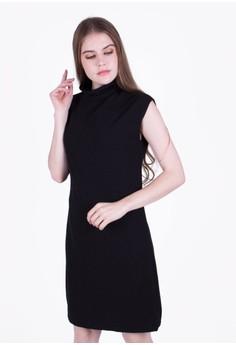 harga Turtleneck Shift Dress Zalora.co.id