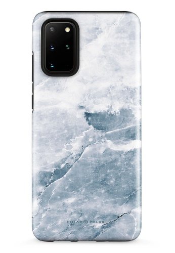 Polar Polar grey Icy Samsung Galaxy S20 Plus 5G Dual-Layer Protective Phone Case (Glossy) 861B5AC6BED7B4GS_1