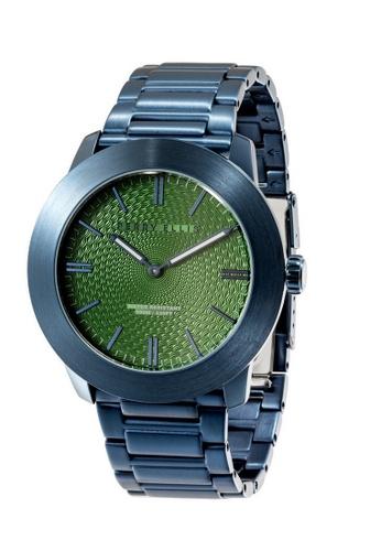 Perry Ellis blue Perry Ellis Slim Line Men 46mm Quartz Stainless Steel Watch 03012-02 31A17AC5CC16E6GS_1