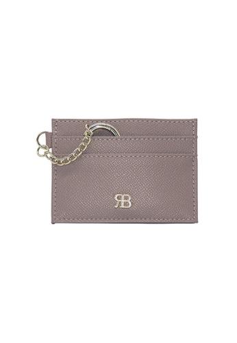 Bethany Roma Bethany Roma Card Holder Key Chain - Khaki ED366AC8F0E985GS_1