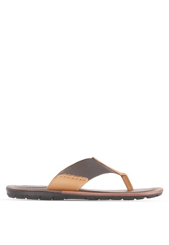 Tony Perotti brown Tony Perotti Sandal Arnie - Brown TO890SH0VNIBID_1