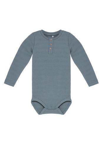 NAME IT blue Nord Long Sleeves Bodysuit 3892EKABDC397AGS_1