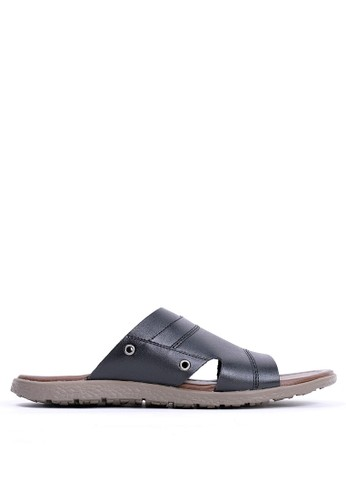 Tony Perotti black Tony Perotti Sandals Everett - Black 30DDDSHA4BE11BGS_1