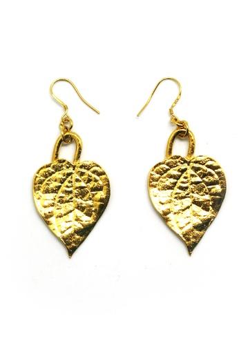 Paulini gold Earring Sireh (G) PA011AC50TMJMY_1