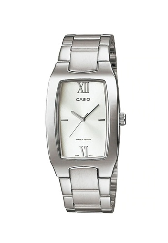 CASIO silver Casio Men's Analog MTP-1165A-7C2DF Stainless Steel Band Casual Watch C9AFBAC204CBC6GS_1