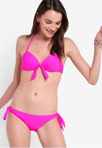 5a952f0bf19fc PINK N  PROPER purple Basic Push Up Bikini Set 40B77US54BBE20GS 1. CLICK TO  ZOOM