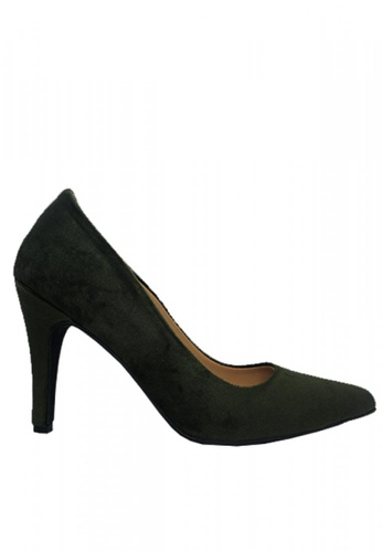 M&G green Dixon Heels by M&G 9846ASH6870F3EGS_1