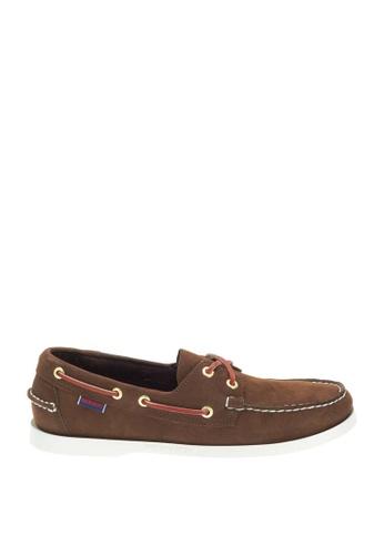Sebago brown Docksides Boat Shoes SE328SH72YNBPH_1