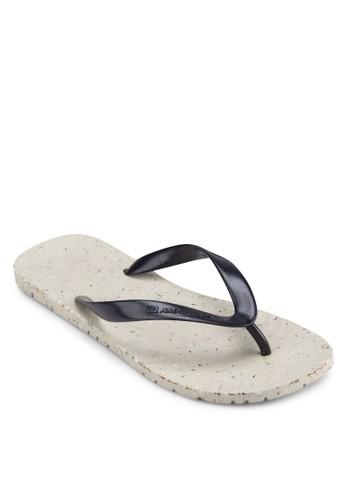 zalora 評價撞色鞋墊夾腳拖鞋, 鞋, 拖鞋