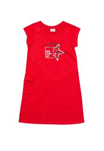 PITO DITO red Olesya Dress 3DDA7KAAC688C0GS_1