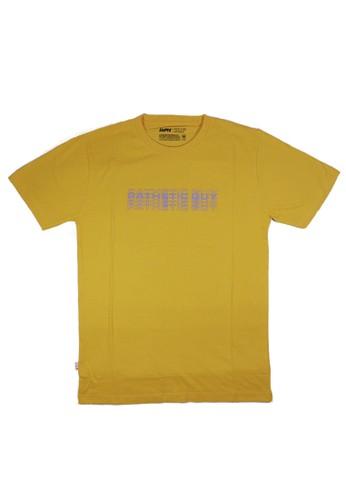 Eight Wardrobe yellow Eight - Pathetic Yellow T-shirt TM339 80A6BAAFD31374GS_1