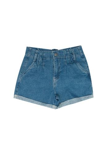 FOX Kids & Baby blue Casual Shorts 92F9FKA81414EBGS_1