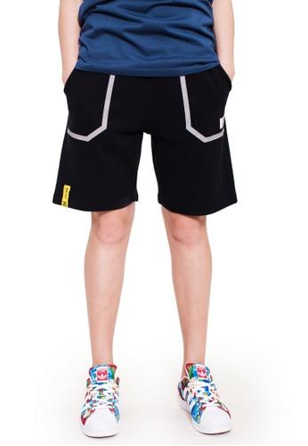 Reoparudo black RPD Reflective Pocket Sweat Shorts (Black) 0A536AA3547883GS_1