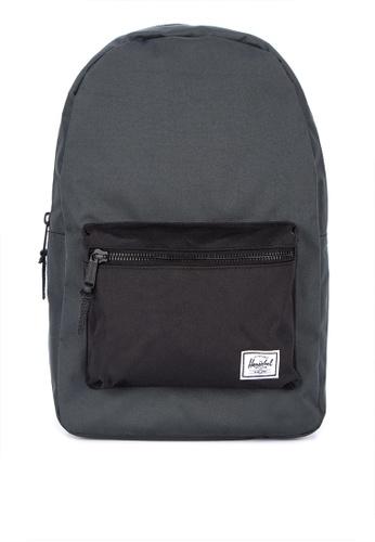 Herschel black Settlement Backpack 1F6FCAC5139A20GS_1