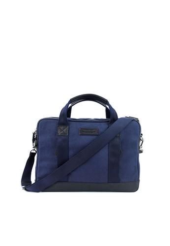 Gnome and Bow blue Aspen Slim Briefcase E4200AC0F95BCCGS_1