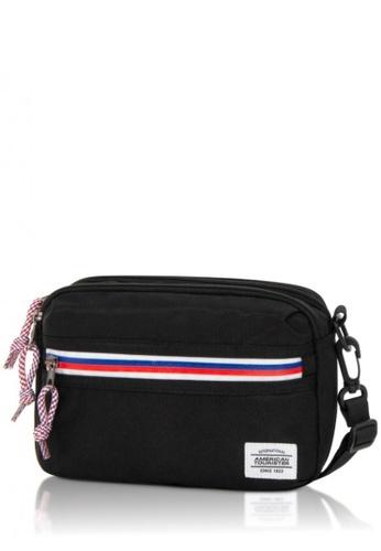 American Tourister black American Tourister Blake Utility Bag 7599BAC1A178A2GS_1