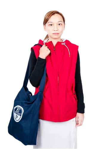 East Pole red Women's 10 Pockets Travel Vest Windbreaker D7AC8AA977022DGS_1