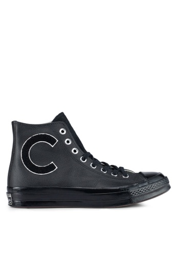 28bd6ead787 Converse black and white Chuck Taylor All Star 70 Hi Sneakers  CO302SH0SW6RMY_1