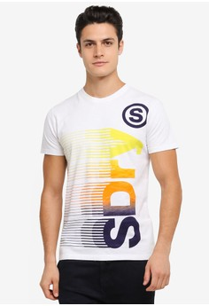 【ZALORA】 Superdry Vertical Tee