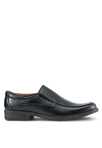 Rocklander black Slip On Dress Shoes RO978SH0SMM9MY_1