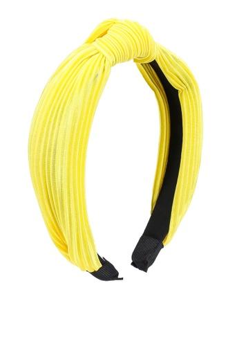 Call It Spring yellow Cowlyd Head Band 4E30DAC15E3BB8GS_1