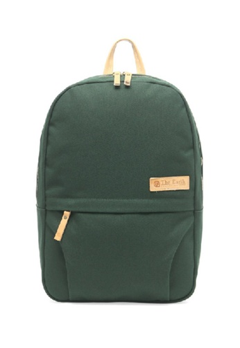 The Earth Canvas Daypack - Green TH763AC92OIXHK_1