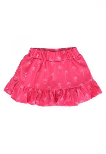 FOX Kids & Baby pink Printed Mini Skirt 69790KA0A59A8FGS_1