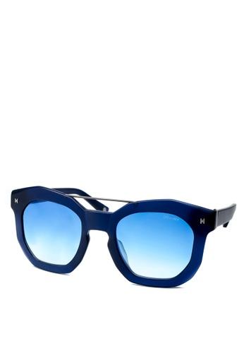 HEX EYEWEAR blue and navy Artist - Andy W. - Sunglasses - Italy Design HE671AC2V1KJHK_1
