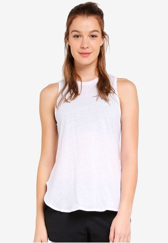 Cotton On Body white Scooped Flow Tank Top 01323AA177121AGS_1