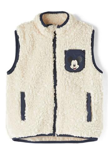NAME IT white Mickey Luke Vest 436A3KA6DE7FE5GS_1