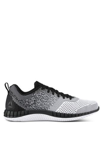 Reebok white Reebok Print Run Prime Ultraknit Shoes RE691SH0S9Z0MY_1