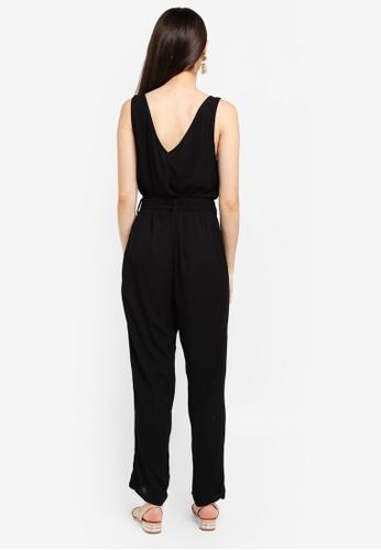 62a7a25449b1 Shop Cotton On Woven Bobbie Strappy Wide Leg Jumpsuit Online on ...