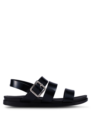 Rubi black Luca Triple Strap Jelly Sandals 7F426SH0958317GS_1