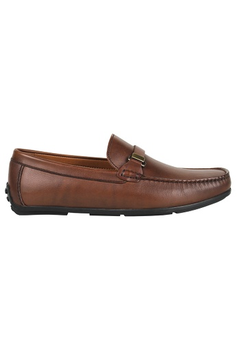 Tomaz brown Tomaz C362 Front Buckled Loafers (Coffee) 241D1SHC0C63E2GS_1