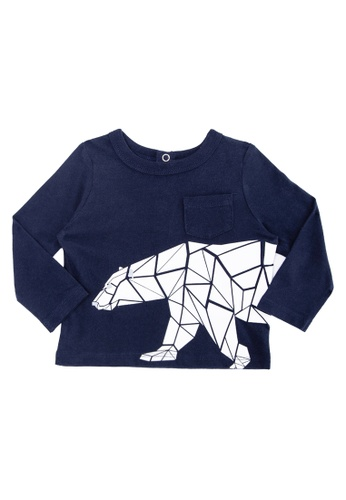 Joe Fresh blue Baby Boys Elevated Graphic Tee 2836AKAFA11ACEGS_1