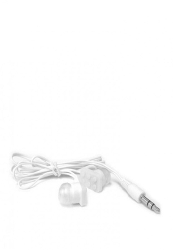 Latest Gadget white Block Type Earbuds Sundries Play Brick Headphones 2FE53AC1D10817GS_1
