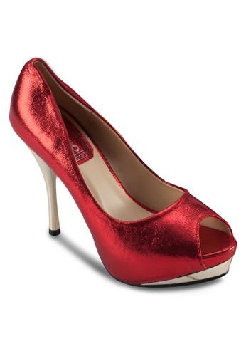 亮面魚口派對高跟鞋, esprit outlet台北女鞋, 鞋