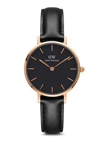 Daniel Wellington gold Petite Sheffield Black 28mm Rose gold 04F75AC969E6C9GS_1