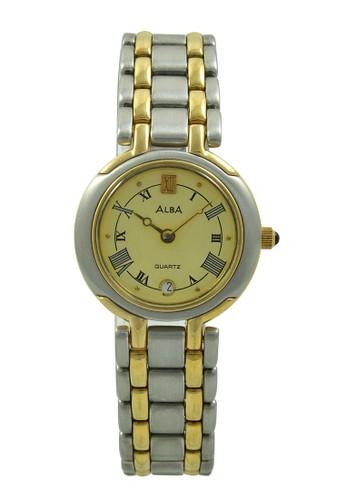 Alba gold and silver ALBA Jam Tangan Wanita - Silver Gold - Stainless Steel - AYC26B AL383AC46AABID_1