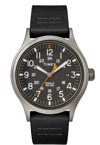 TIMEX black Timex Allied 40 - Black Strap, Grey Dial (TW2R46500) TI857AC0FOYDSG_1
