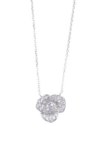 The LoveMark silver Grandiose Flower Silver Necklace TH516AC70AHHPH_1