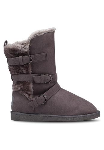 Carlton London 灰色 經典必備雪靴 DEF86SH4A74BA4GS_1